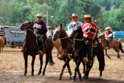 Chile - gauchos rodeo 17